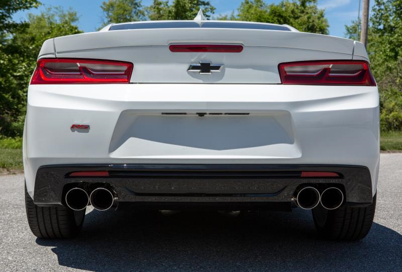 2016+ Camaro 2.0L I4 Mishimoto Catback Exhaust System w/Quad Polsihed Tips