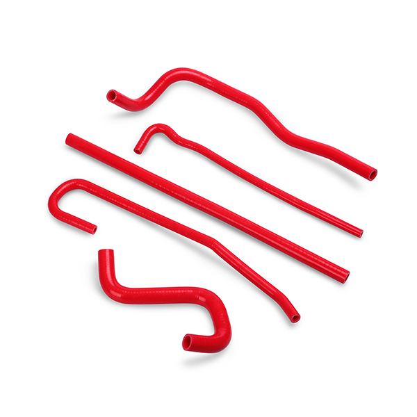 97-04 C5/ZO6 Corvette Mishimoto Silicon Ancillary Hose Kit - Red