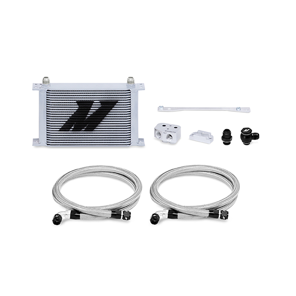 2004-2006 Pontiac GTO Mishimoto Front Sump Race Oil Cooler Kit - Silver