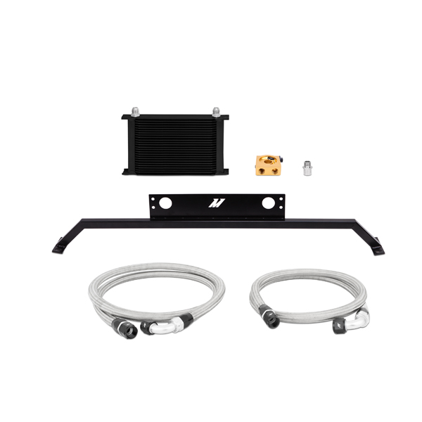 2011-2014 Ford Mustang 5.0L Mishimoto Performance Oil Cooler Kit - Black