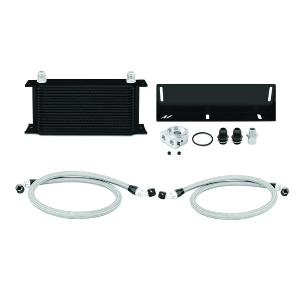 1979-1993 Ford Mustang 5.0L Mishimoto Performance Oil Cooler Kit - Black