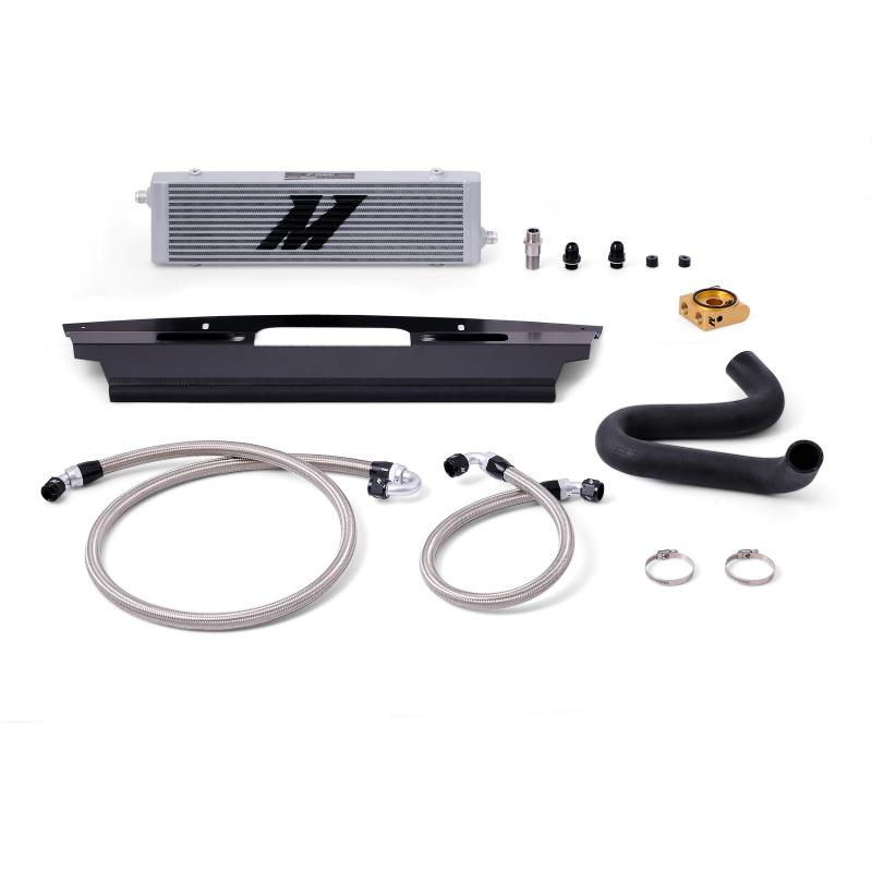 2015+ Ford Mustang GT 5.0L V8 Mishimoto Oil Cooler Kit - Silver