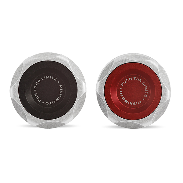 Mishimoto LS Engine Oil Filler Cap - Red