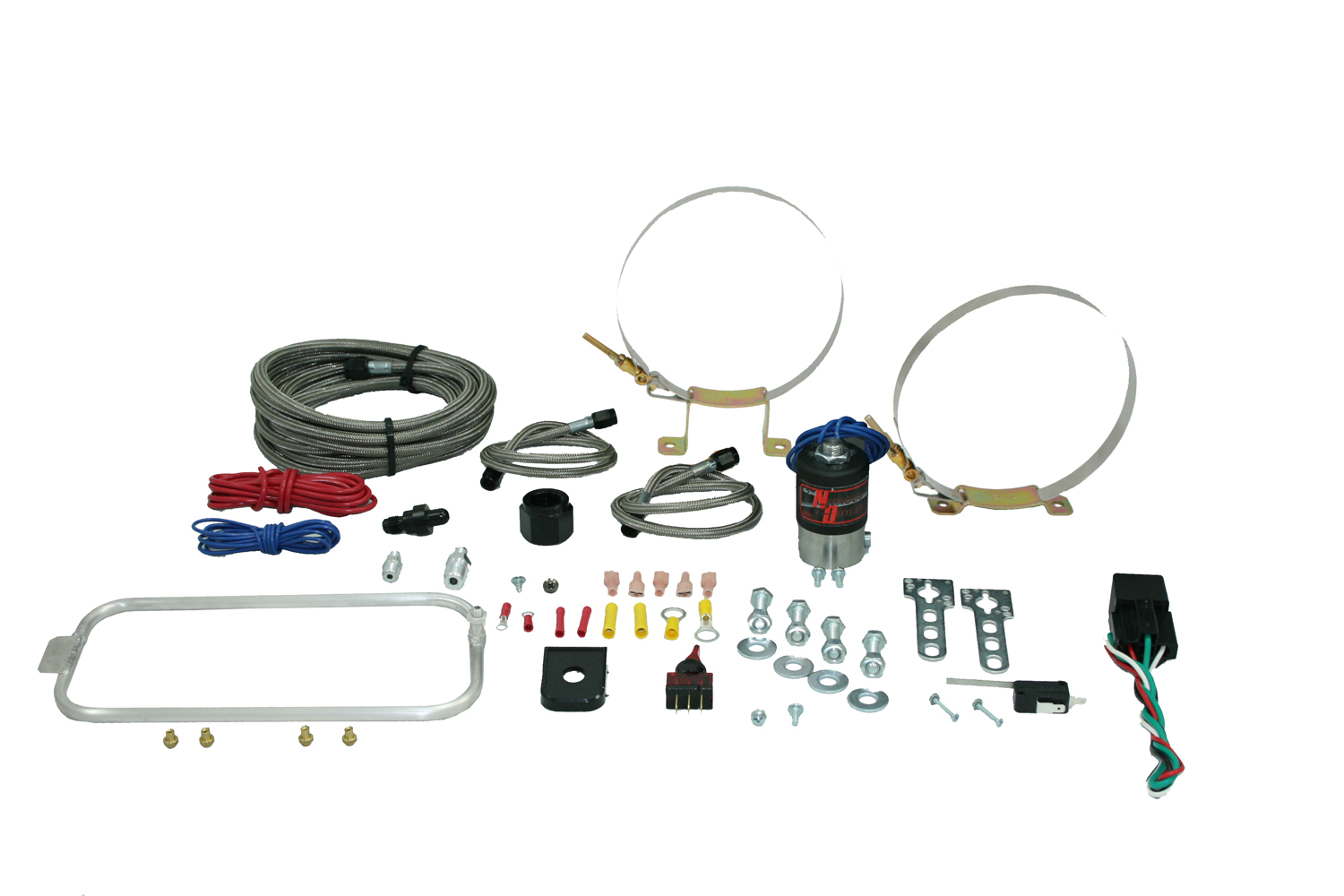 98-02 Nitrous Outlet LS1 FBody Hidden Dry Nitrous Halo System (No Bottle)