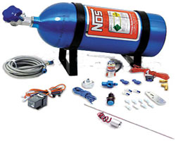 NOS Ntimidator purge kit w/ blue LED & 10lb bottle