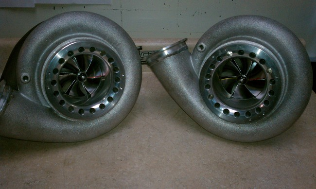 Custom Racing Turbos PX Race Series 91mm Billet Turbo Charger w/High Flow GT55 112mm Turbine Wheel - 1600hp