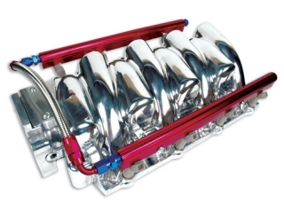 LS1 Power+Plus Typhoon Manifold 85mm (Polished Finish)