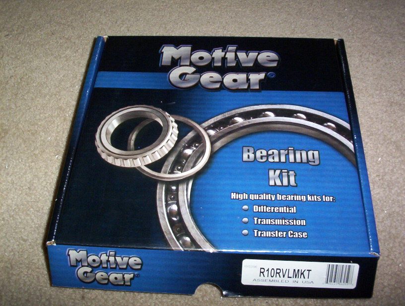 97-04 C5 Corvette Motive Gear Super Ring and Pinion Gear Installation Kit
