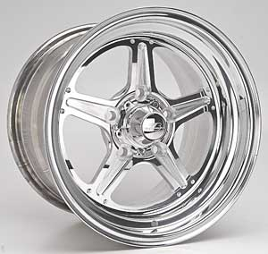 "93-02 Fbody Billet Specialities Street Lite Polished Wheels - 15"" x 10"""