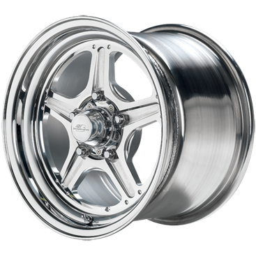 "93-02 Fbody Billet Specialities Street Lite Polished Wheels - 15"" x 10"" w/7.5"" Backspacing"