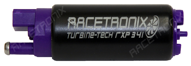 Racetronix High Pressure/Volume 340L/Hr Fuel Pump - 11mm Offset Inlet Design