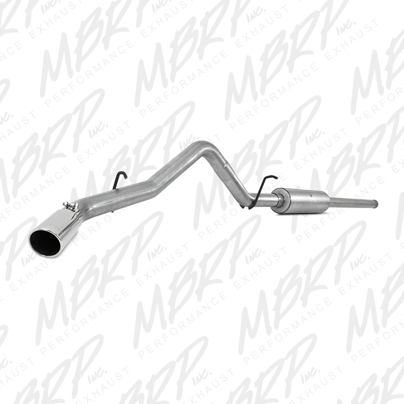 2014-2018 Chevy/GMC 1500 MBRP Performance Aluminum Catback Exhaust Kit w/Single Side Exit Tip - One-Piece Driveshaft