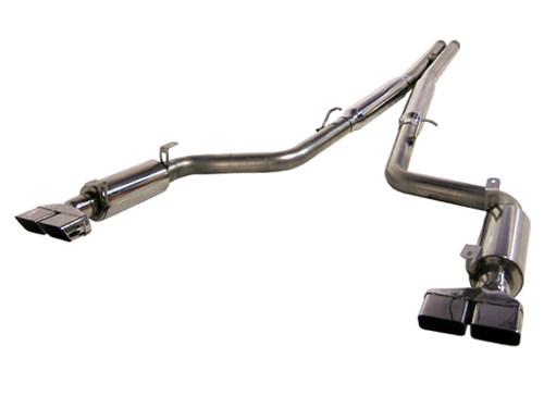2008+ Dodge Challenger V8 6.1L SRT8 MBRP Performance Catback Exhaust