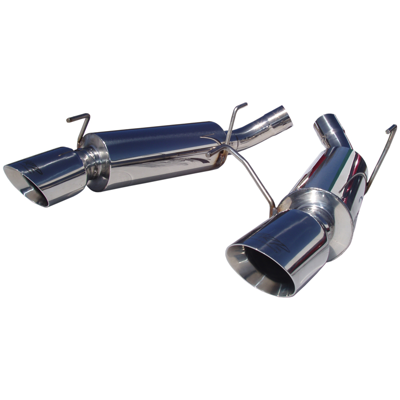 2005-2010 Ford Mustang GT MBRP Performance Pro Series Dual Mufflers Axle Back Exhaust System