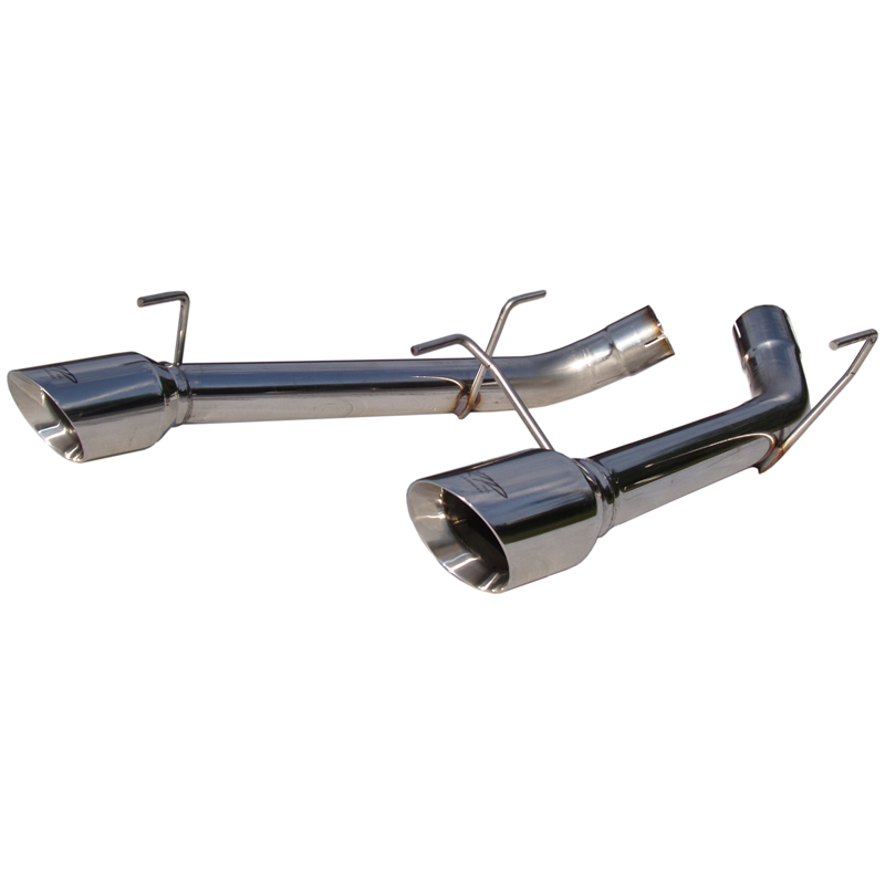 2005-2010 Ford Mustang GT MBRP Performance Pro Series Dual Axle Back Muffler Delete