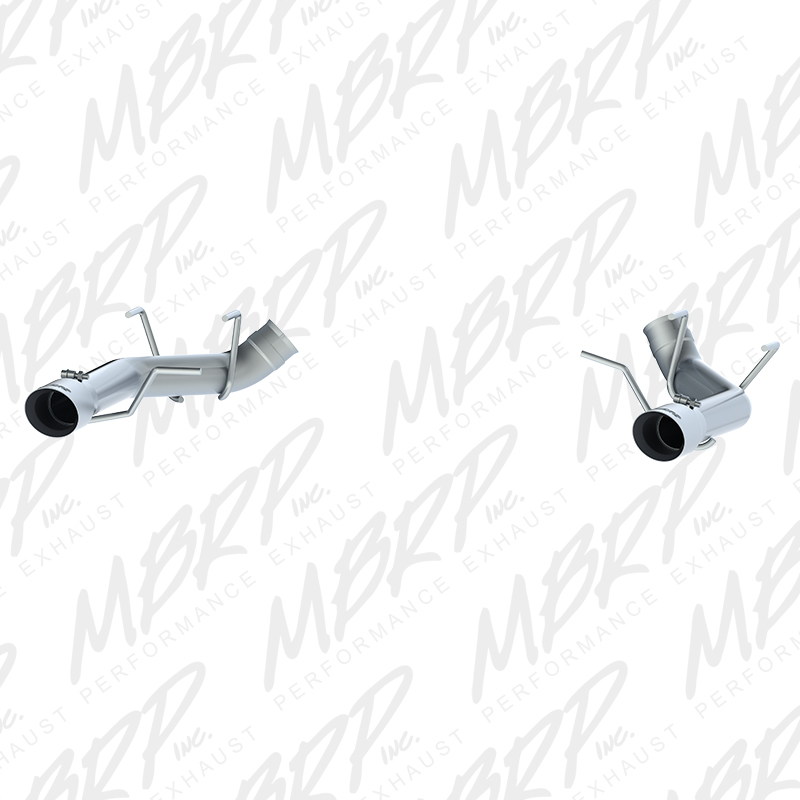 2011-2014 Ford Mustang GT 5.0L MBRP Performance Muffler Delete Catback Exhaust System