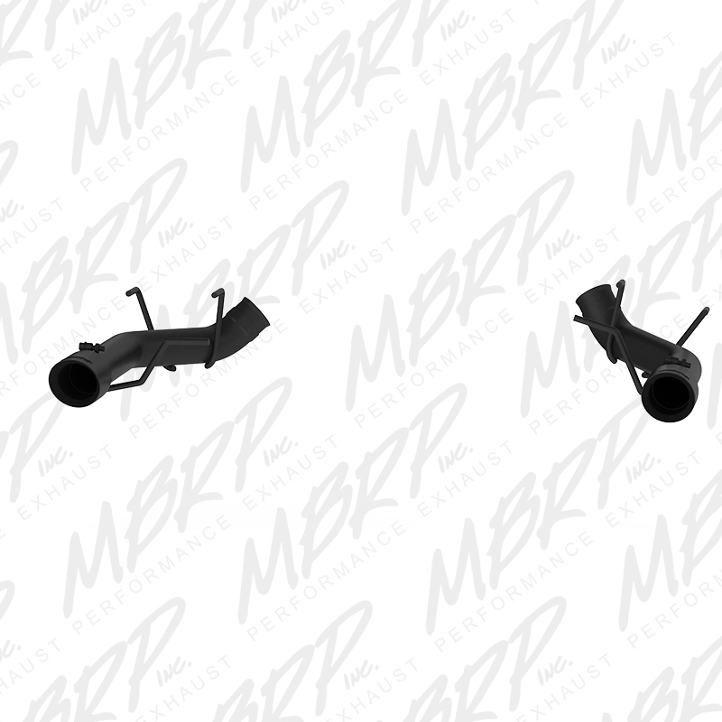 2011-2014 Ford Mustang GT 5.0L MBRP Performance Muffler Delete Catback Exhaust System - Black
