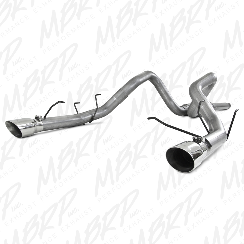 2011+ Ford Mustang GT 5.0L V8 MBRP Performance Race Version Exhaust System - Aluminized Steel