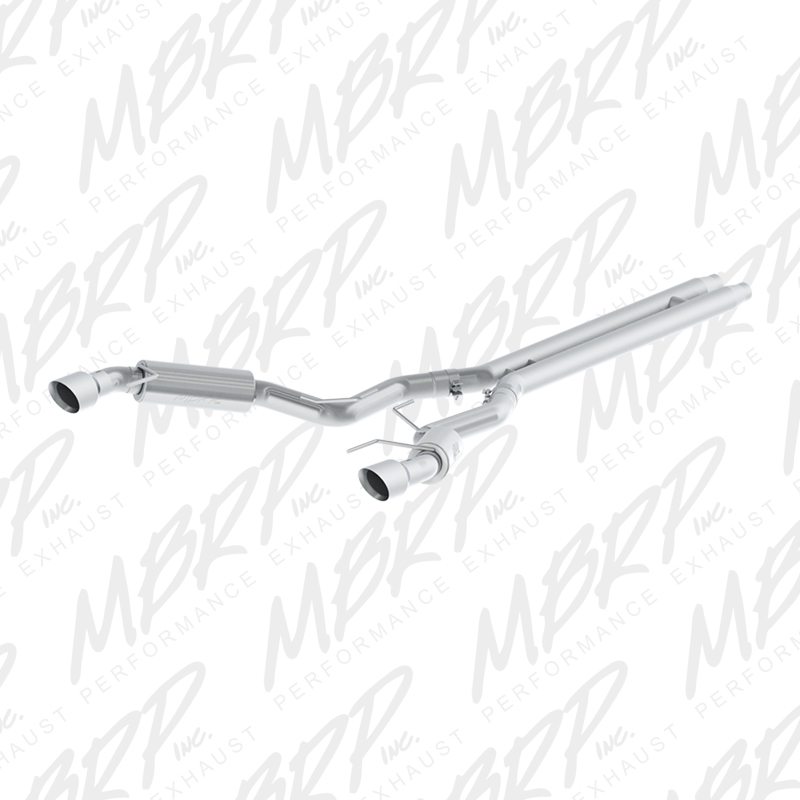 "2015+ Ford Mustang GT 5.0L MBRP Performance Street Version 3"" T409 Catback Exhaust System w/4.5"" Tips"