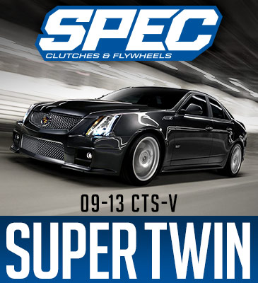 2009+ Cadillac CTS-V SPEC Super Twin Disc Clutch - E Trim (1525 ft/lbs)