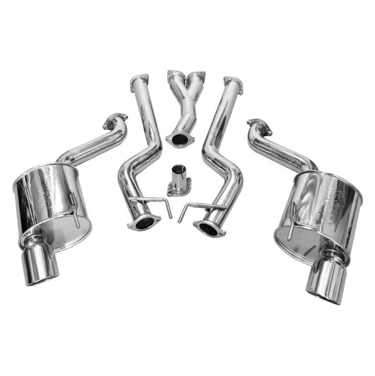 2015+ Ford Mustang 2.3L I4 Injen Technology Stainless Steel Catback Exhaust System
