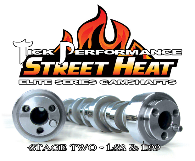 LS3/L99 Tick Performance Stage 2 Street Heat Camshaft