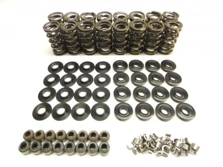 "LS Series Brian Tooley Extreme Dual Valve Spring Kit w/Tool Steel Retainers (.660"" Lift)"