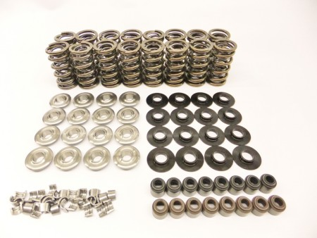 "LS Series Brian Tooley Extreme Dual Valve Spring Kit w/ Titanium Retainers (.660"" Lift)"