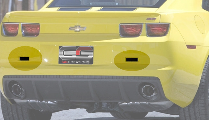 2010-2013 Camaro GSCreations Reverse Light Blackout Kit
