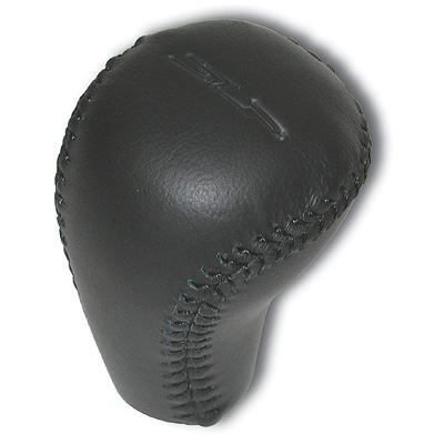 "84-02 SLP Leather Shift Knob ""SLP"" Logo"