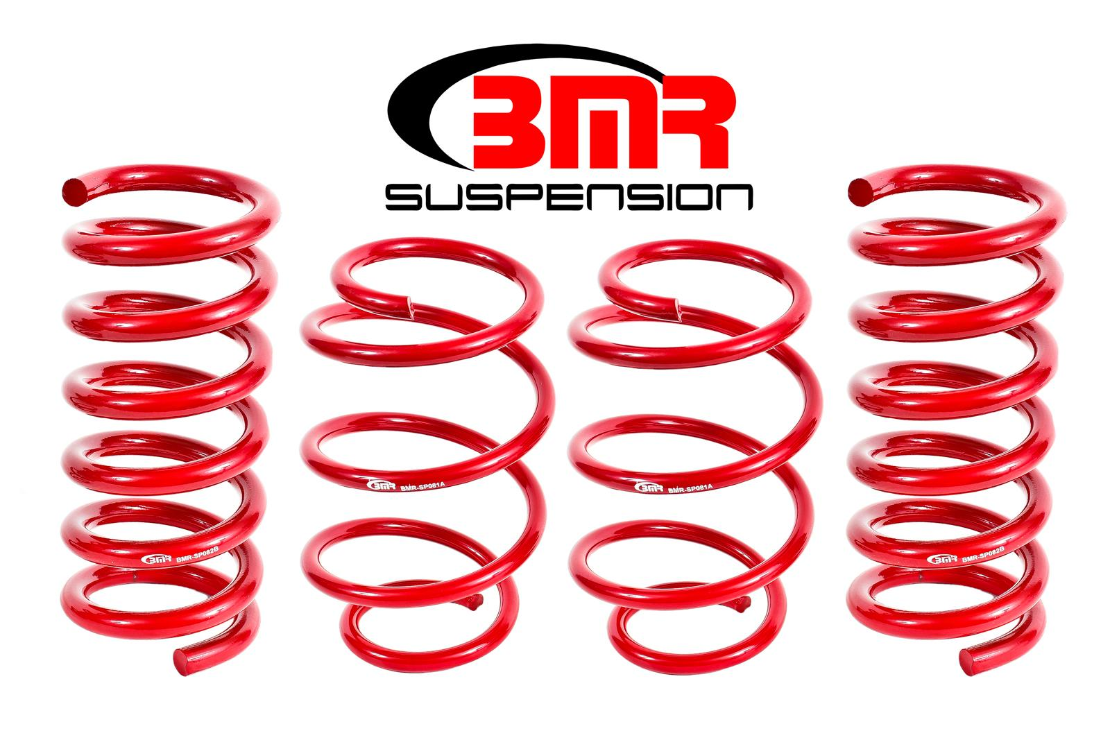 2015+ Ford Mustang BMR Suspension Lowering Performance Springs