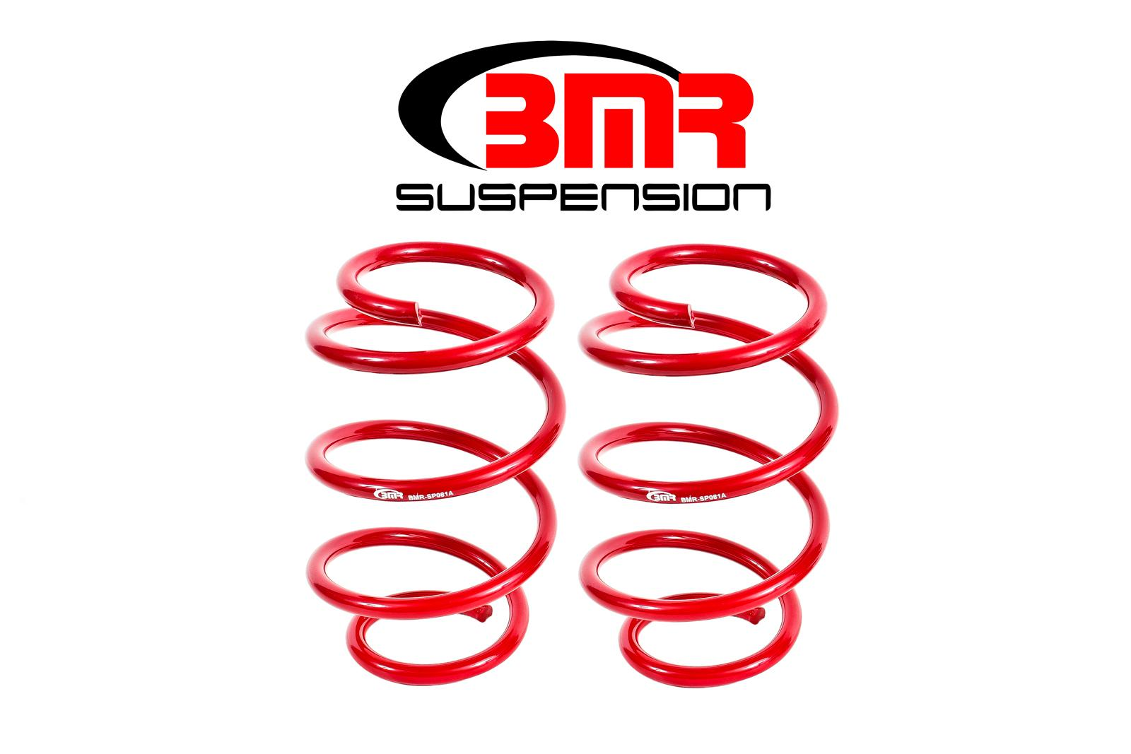 2015+ Ford Mustang BMR Suspension Lowering Performance Springs - Front