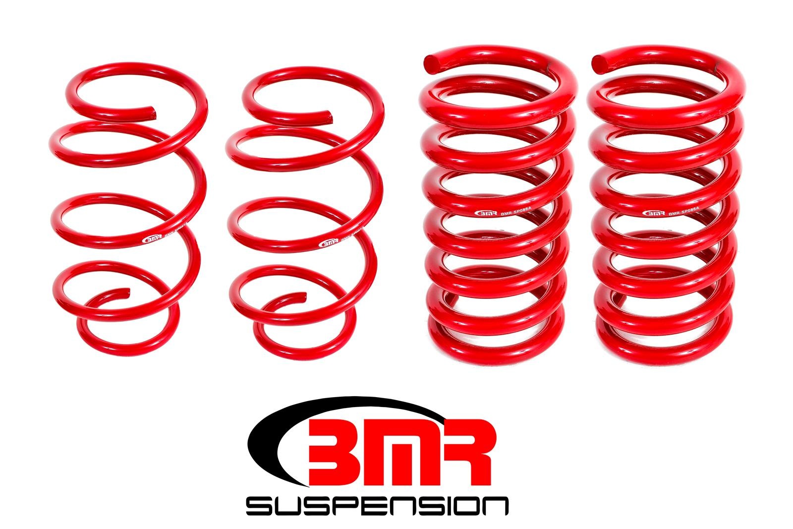 2015+ Ford Mustang BMR Suspension Lowering Performance Springs - Drag Version