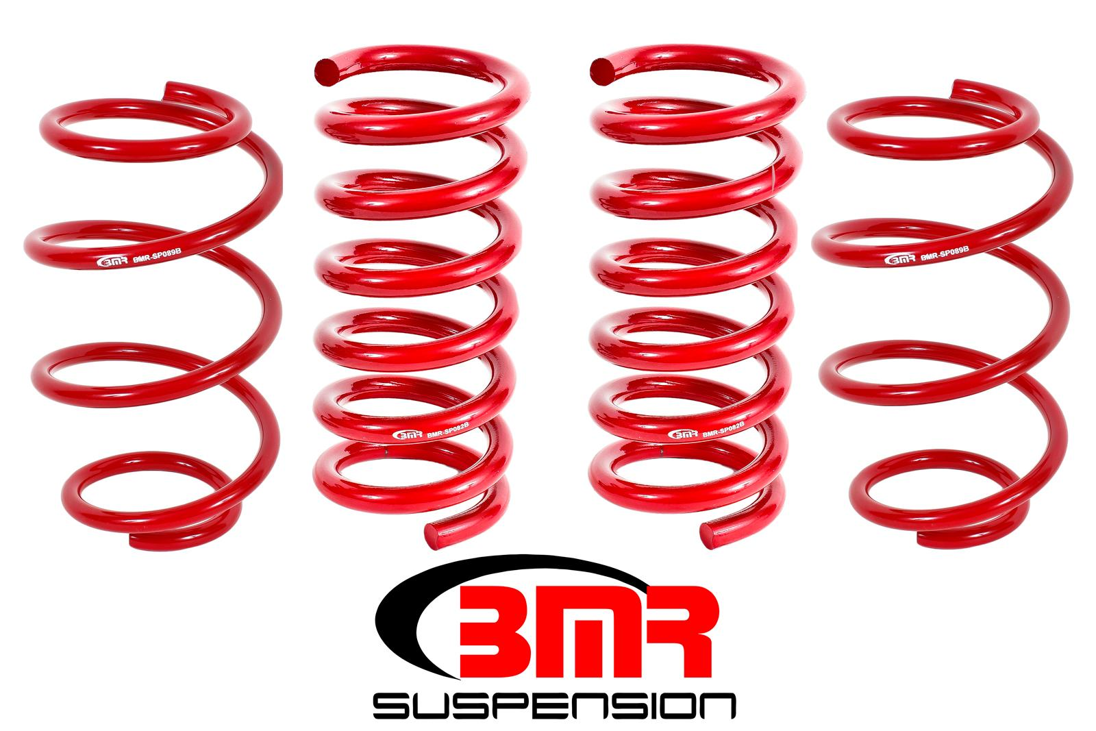 2015+ Ford Mustang GT 5.0L V8 BMR Suspension Performance Lowering Springs