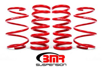 2015+ Ford Mustang BMR Suspension Minimum Drop Lowering Springs - Drag Version