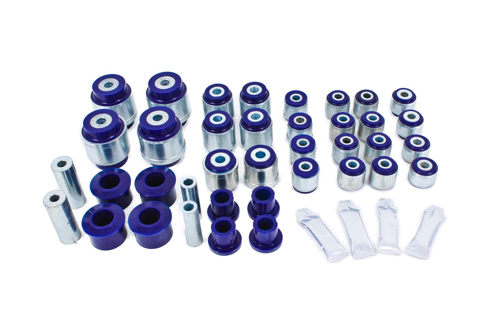 2008+ Dodge Challenger BMR Suspension Super Pro Complete Suspension Bushing Kit - Non Adjustable