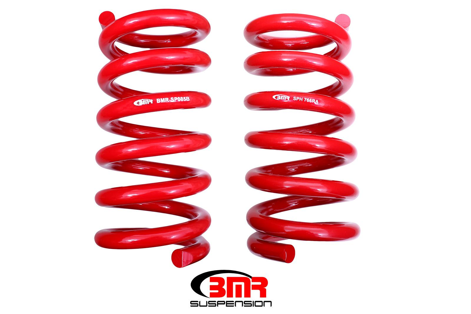 2015+ Ford Mustang BMR Suspension Rear Lowering Springs - Handling Version (GT350)