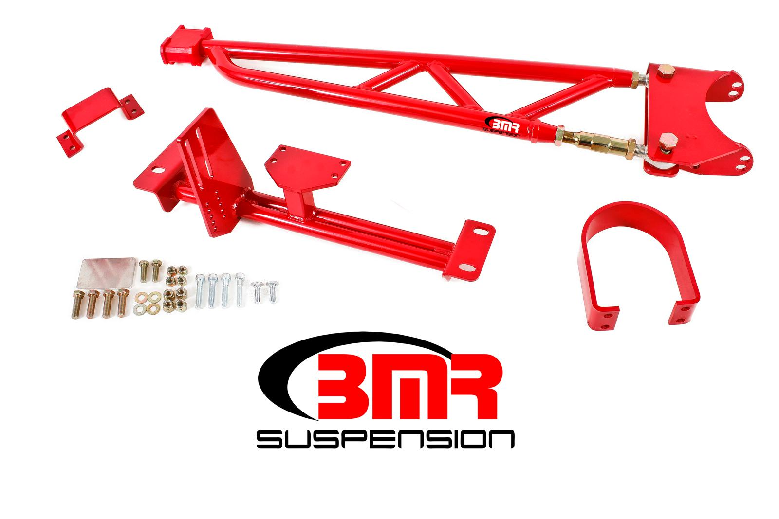 93-02 Fbody BMR Suspension Tunnel Mount Torque Arm w/Driveshaft Safety Loop  - For Stock Exhaust