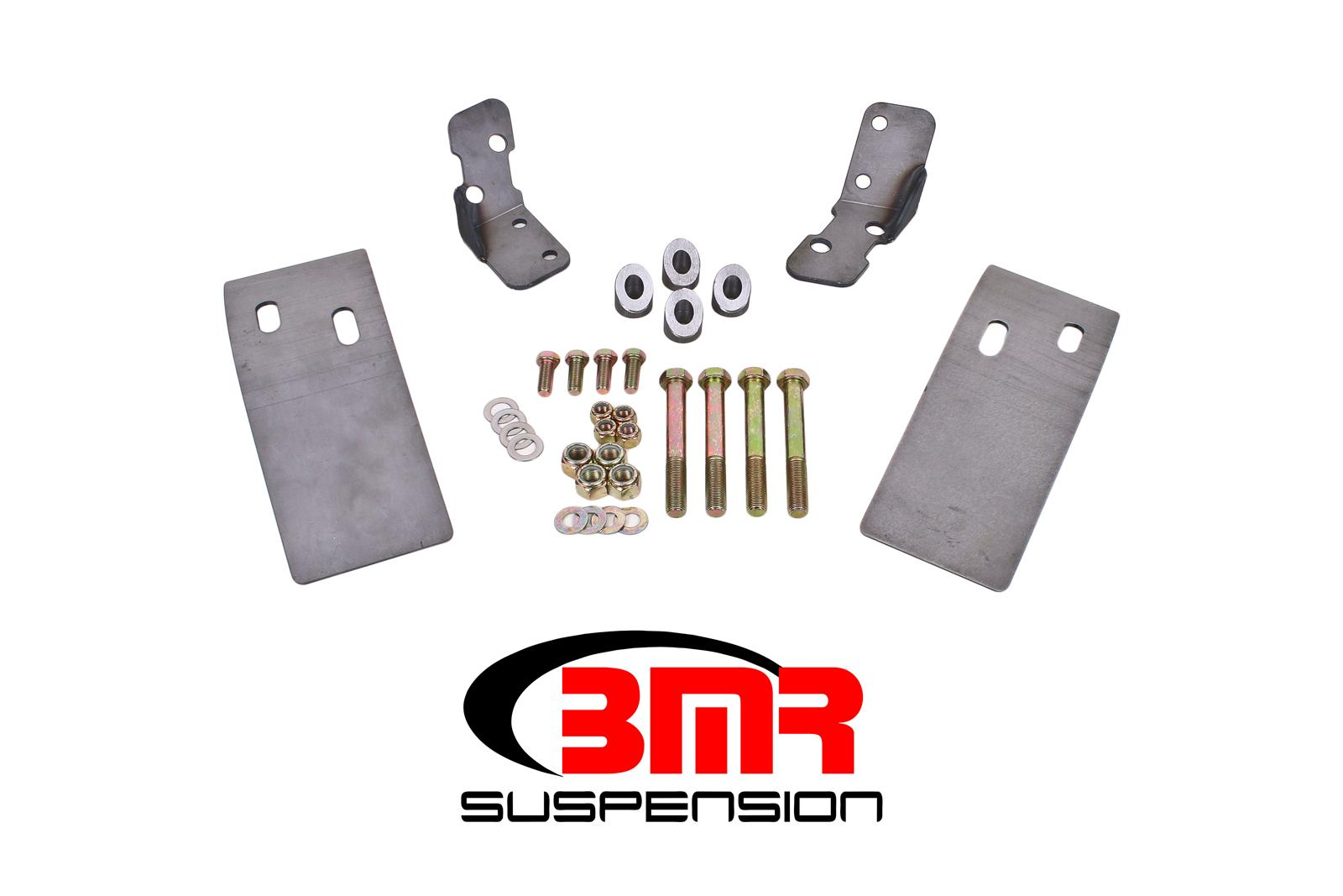 1979-2004 Ford Mustang BMR Suspension Plate Style Torque Box Reinforcement Plate Kit - Upper Only