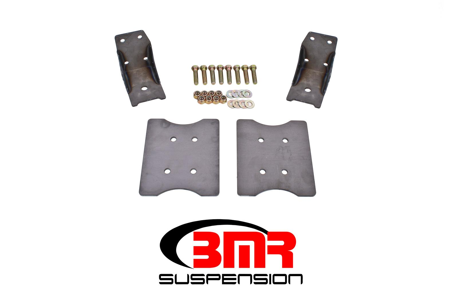 1979-2004 Ford Mustang BMR Suspension Plate Style Torque Box Reinforcement Plate Kit - Lower Only