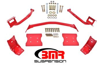 1979-2004 Ford Mustang BMR Suspension Torque Box Reinforcement Plate Kit - (TBR005 And TBR003)