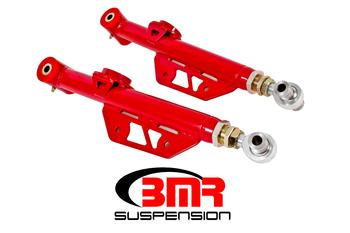 1979-1998 Ford Mustang BMR Suspension On Car Adjustable Lower Control Arms - DOM - Poly/rod End