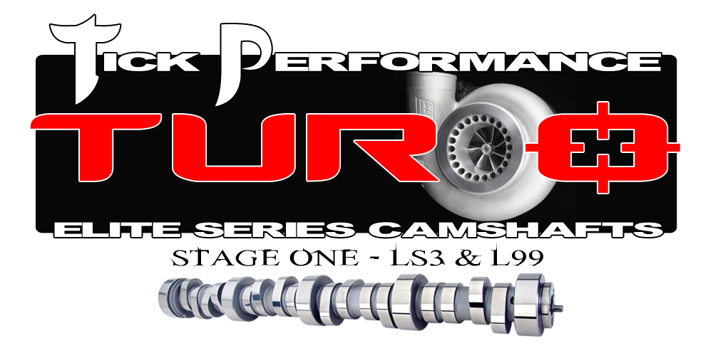 LS3/L99 Tick Performance Stage 1 Turbo Camshaft