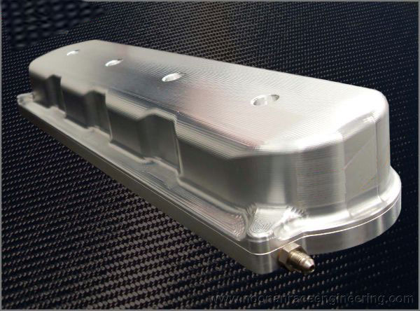 Granatelli Motorsports LS Series Racer Version Super Tall Height Valve Covers w/No Coil Mounts & w/Oilers