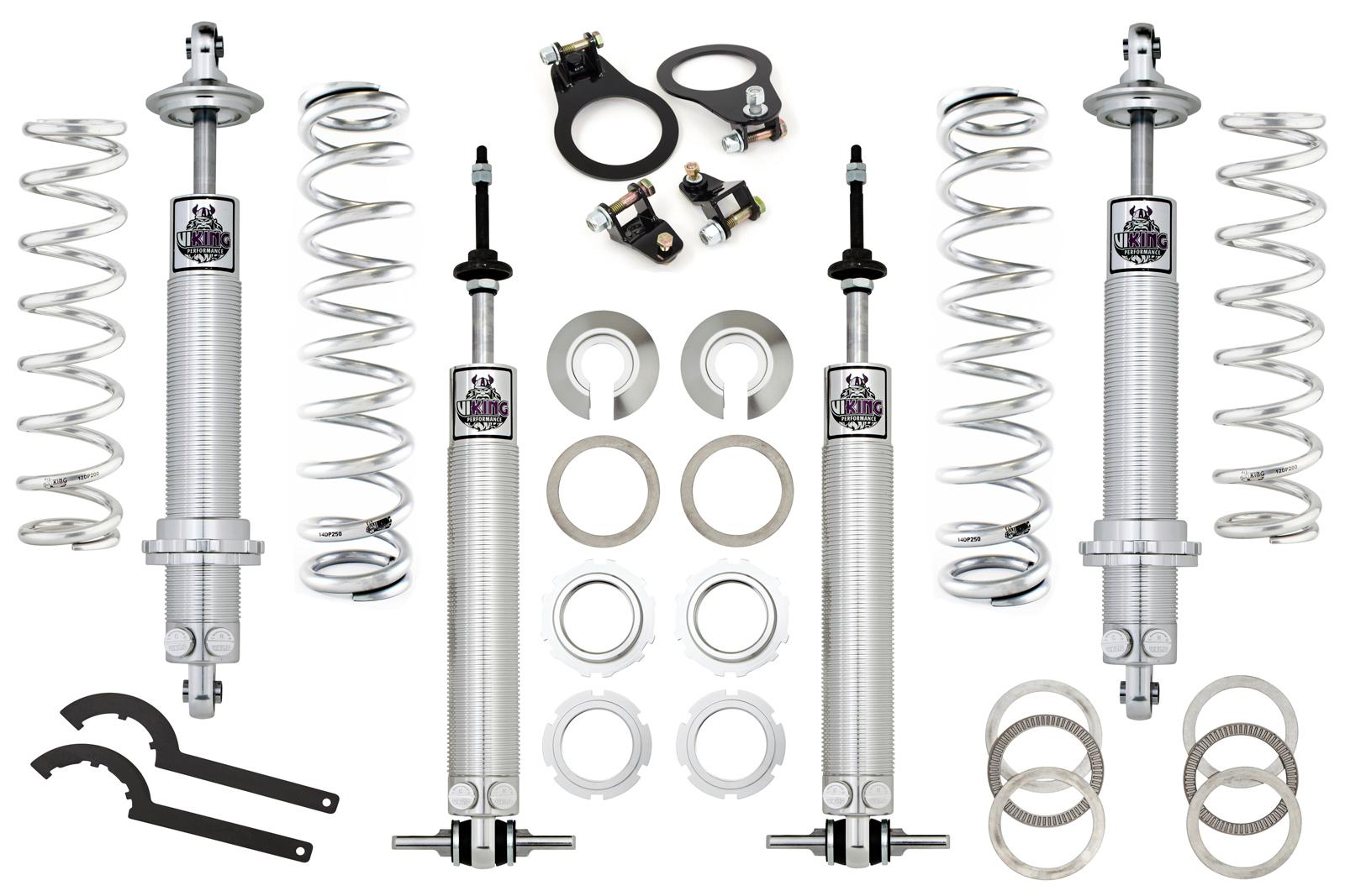 93-02 Fbody Viking Performance Total Coilover Package - Front 400lb/Rear 150lb
