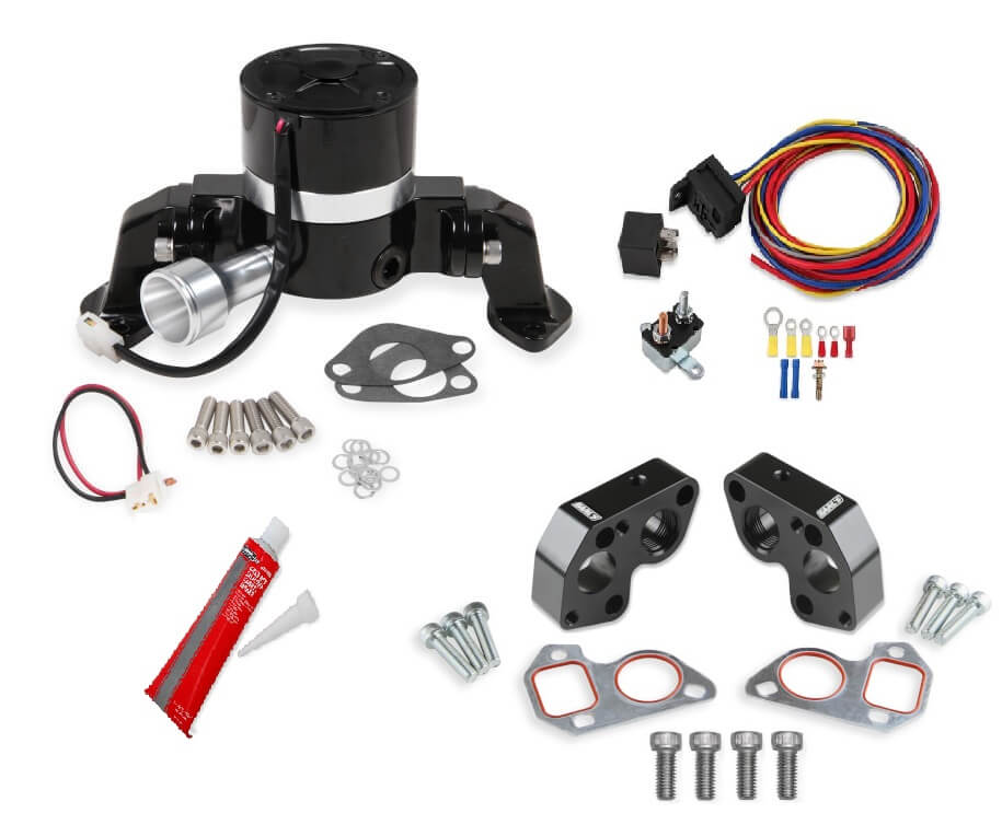 1997-2015 LS Series Holley Electric Water Pump Kit