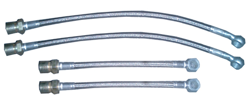 93-00 V6 / 93-97 V8 RPM Speed Stainless Steel Brake Lines-Fronts