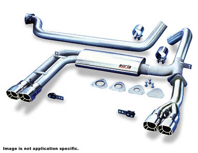 98-02 LS1 Borla Cat-Back Exhaust System (Non-Adjustable)