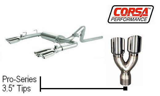 98-02 LS1 Corsa Cat-Back Exhaust System (Pro-Series 3.5 Tips)
