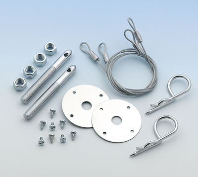 "Mr. Gasket Hood and Deck Pins(Hairpin Style 4"")"